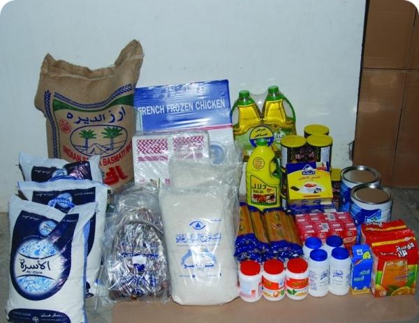 جمعية بللحمر الخيرية تصرف أكثر من ست مئة سلة غذائية للمستفيدين